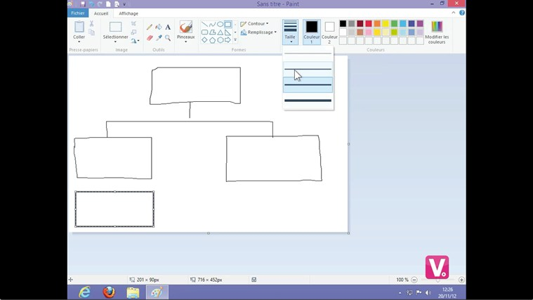 Formation Paint (Windows 8) cattura di schermata 3