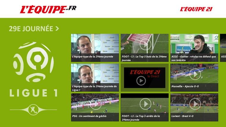 L'Equipe.fr capture d'écran 3