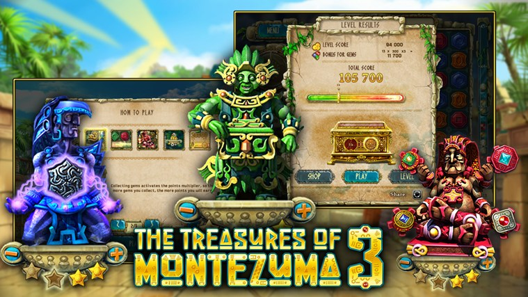 The Treasures of Montezuma 3 Premium screen shot 3
