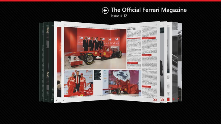 The Official Ferrari Magazine screen shot 1