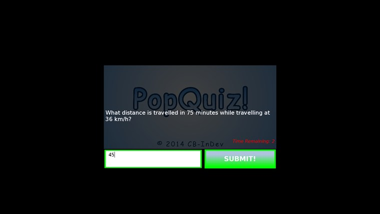 PopQuiz! screen shot 5