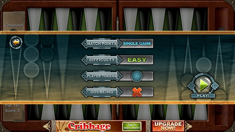 Backgammon Free screen shot 1