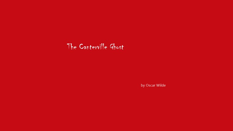 The Canterville Ghost by Oscar Wilde captura de pantalla 3