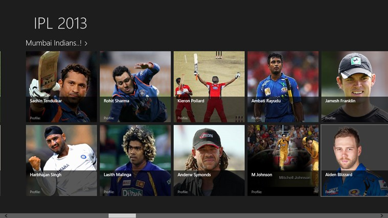 ipl2013 screen shot 1