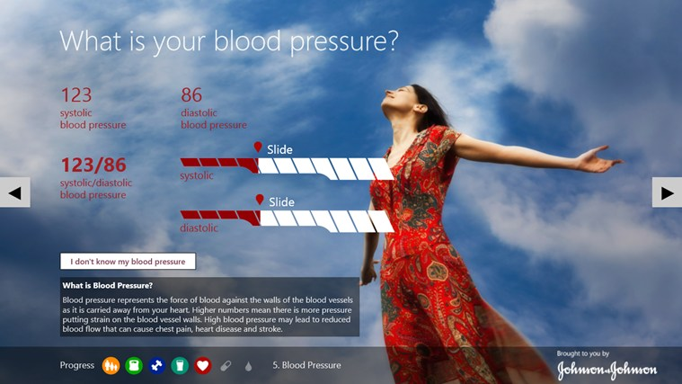 Digital Health Scorecard screen shot 3