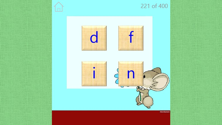 Preschool Spelling screen shot 1
