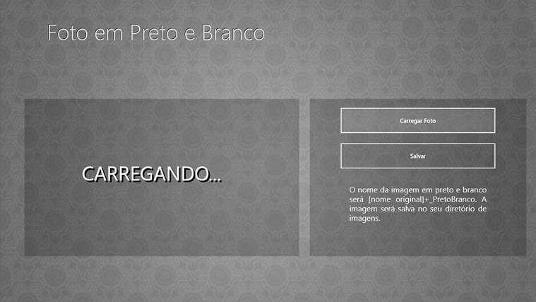 Foto em Preto e Branco screen shot 1