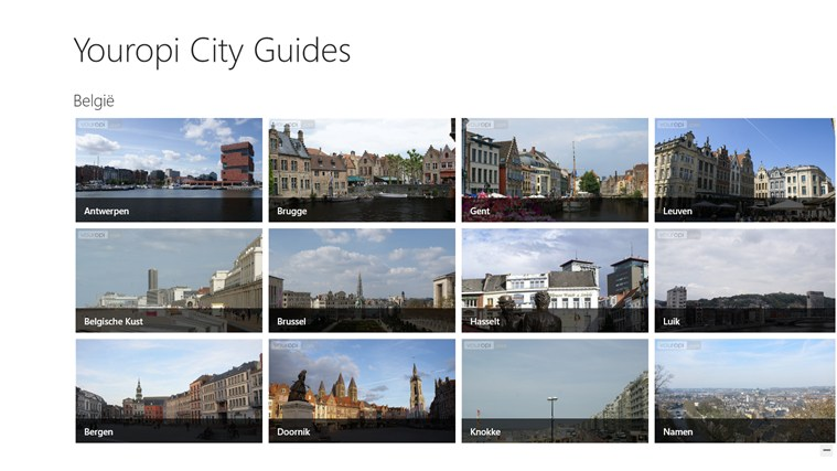 Youropi City Guides schermafbeelding 1