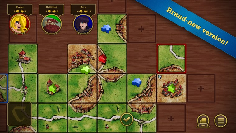 Carcassonne screen shot 1