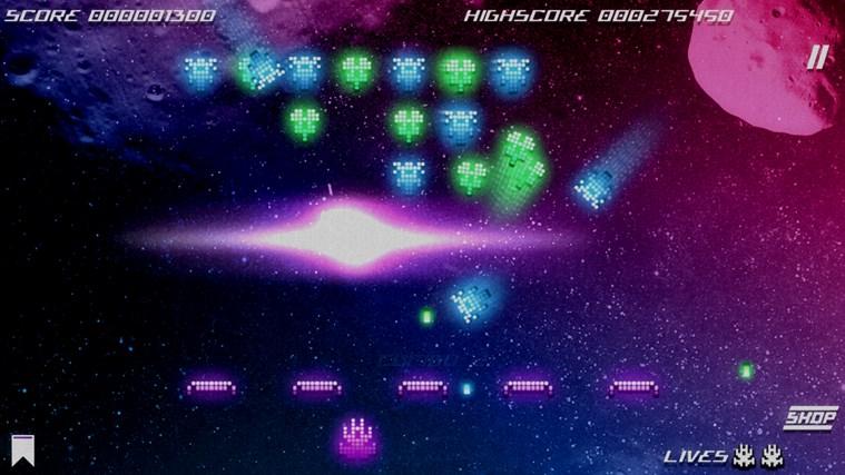 Kosmik Revenge screen shot 3