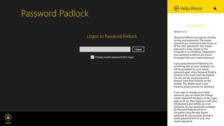 Password Padlock screen shot 7