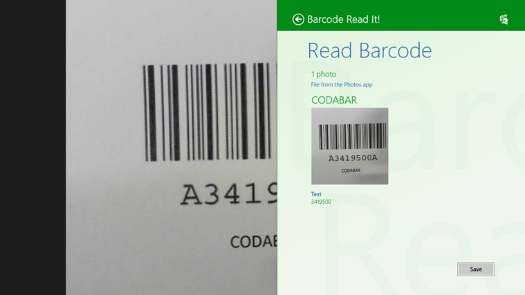 Barcode Read It! screen shot 5