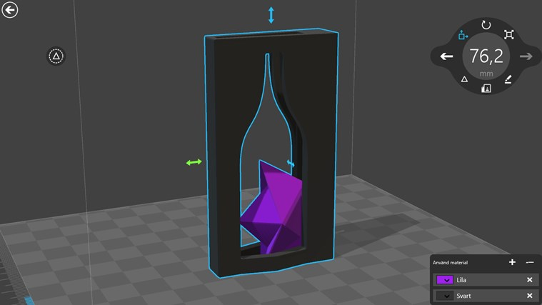 3D Builder-skärmbild 1