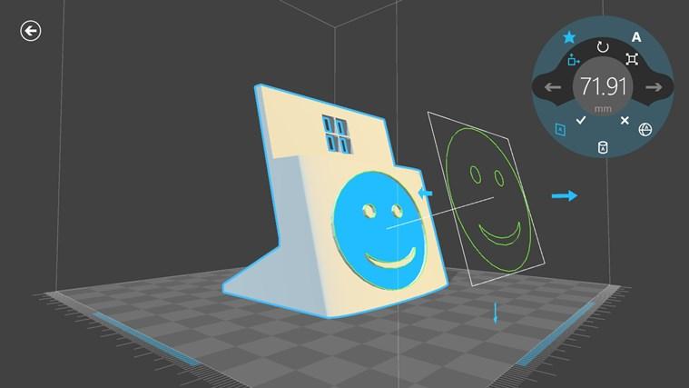 3D Builder-skärmbild 7