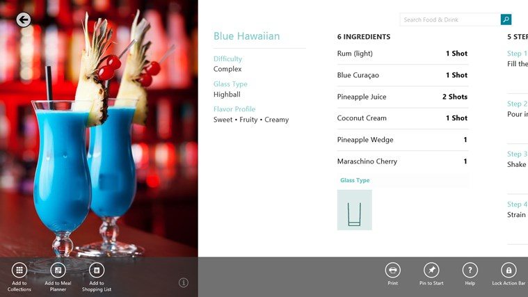 Bing Food & Drink screen shot 7