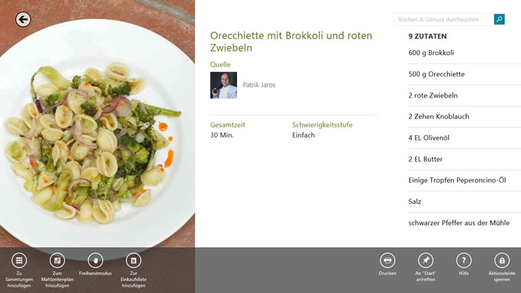 Bing Kochen & Genuss Screenshot 1