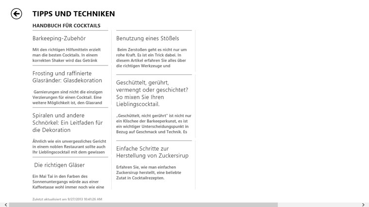 Bing Kochen & Genuss Screenshot 3