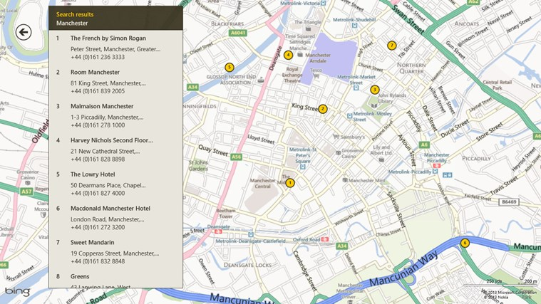 AA Restaurant Guide screen shot 5