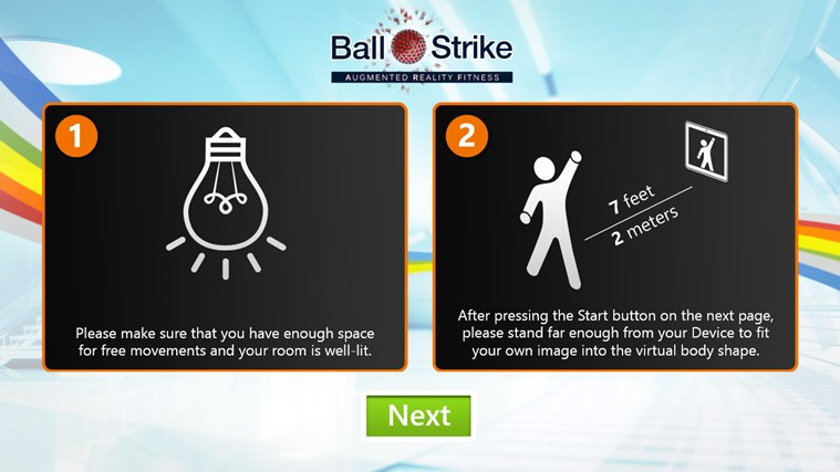 BallStrike screen shot 1