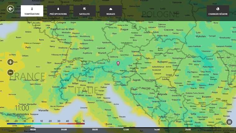MSN Météo capture d'écran 5