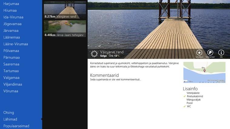 Eesti supelrannad kuvatõmmis 1