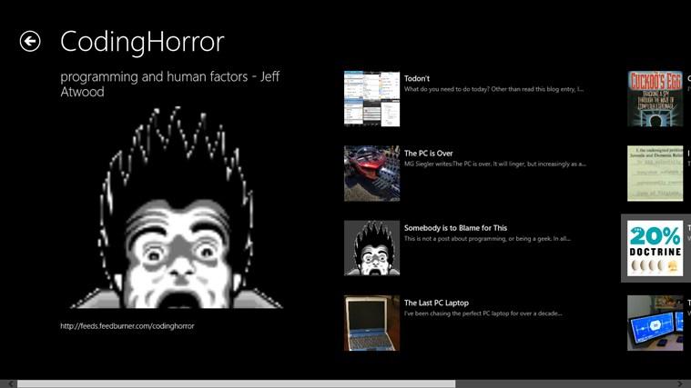CodingHorror screen shot 1