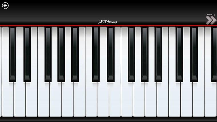 Piano8 screen shot 1