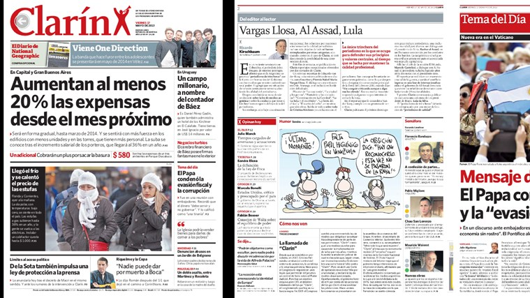 Clarin screen shot 3