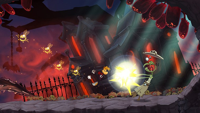 Rayman Jungle Run screen shot 3