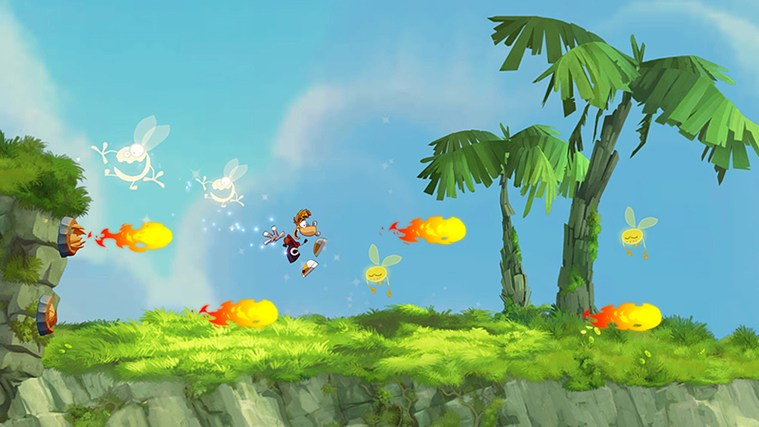 Rayman Jungle Run captura de pantalla 1