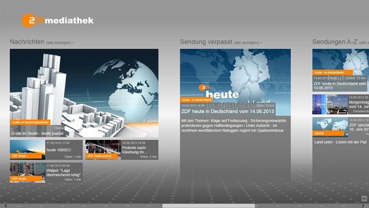 ZDFmediathek Screenshot 3