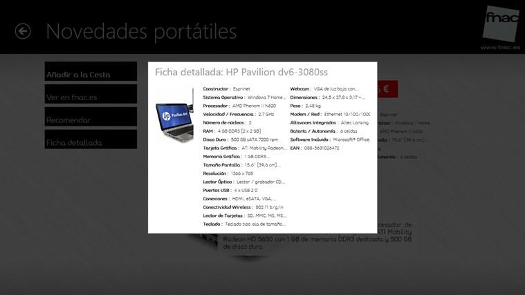 Fnac.es captura de pantalla 1