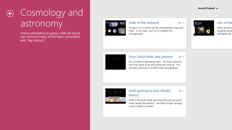 Khan Academy screen shot 3
