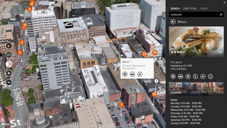 Bing Maps Preview screen shot 3