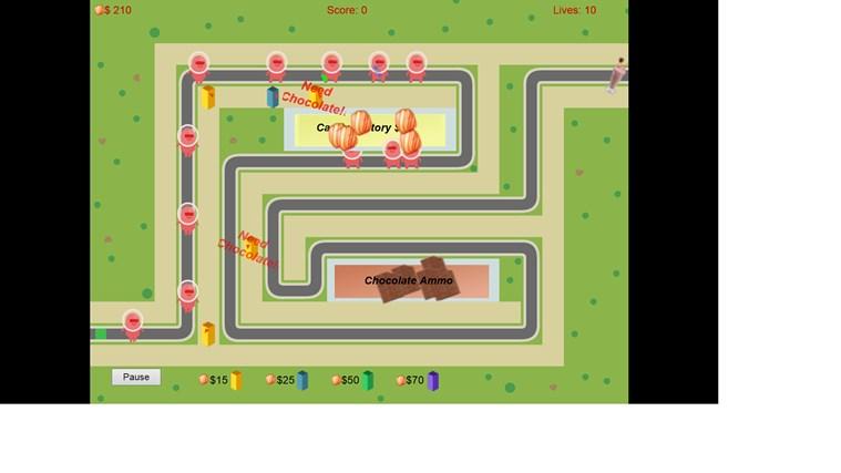 Super G Defense screen shot 1