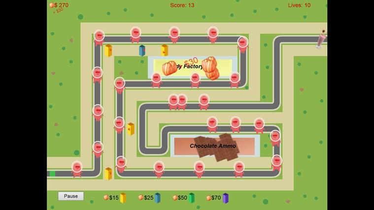 Super G Defense screen shot 3