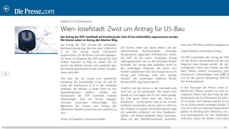 Die Presse Screenshot 3