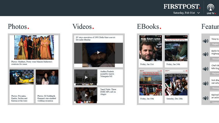 Firstpost screen shot 1