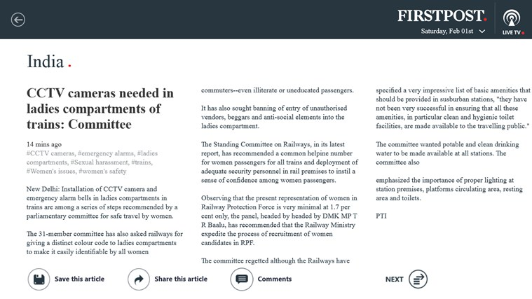 Firstpost screen shot 7