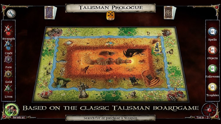 Talisman Prologue screen shot 1