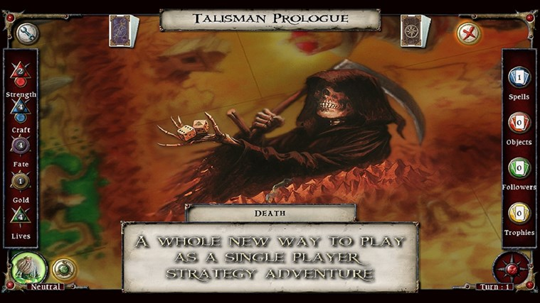 Talisman Prologue screen shot 3