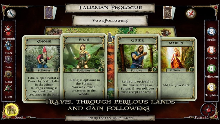 Talisman Prologue screen shot 5