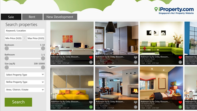iProperty.com - Homes for Sale and Rent, New Developments petikan skrin 1