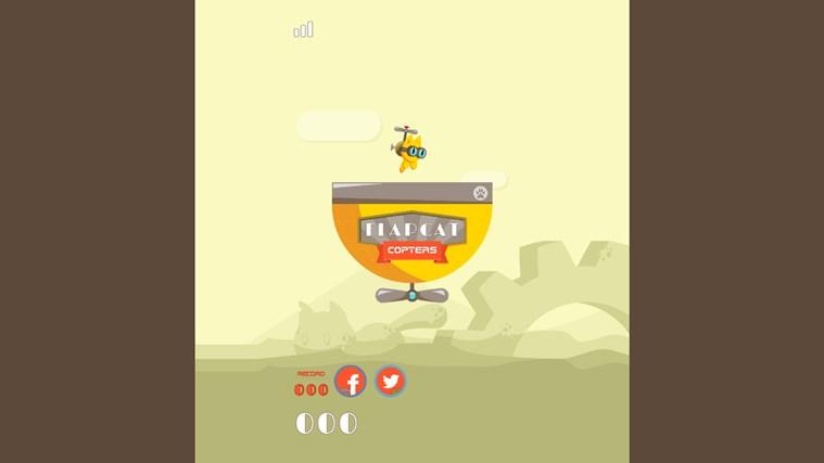 FlapCat Copters snímek obrazovky 1