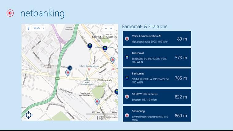 Erste Bank / Sparkasse Österreich - netbanking Screenshot 1