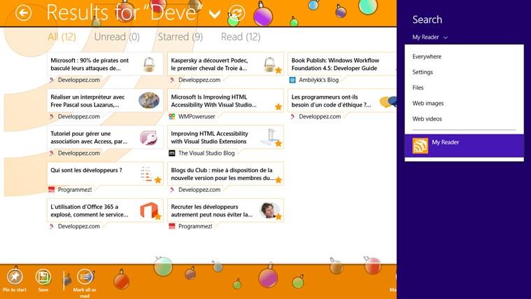 MyReader screen shot 7