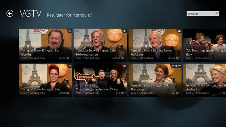 VGTV skjermbilde 5