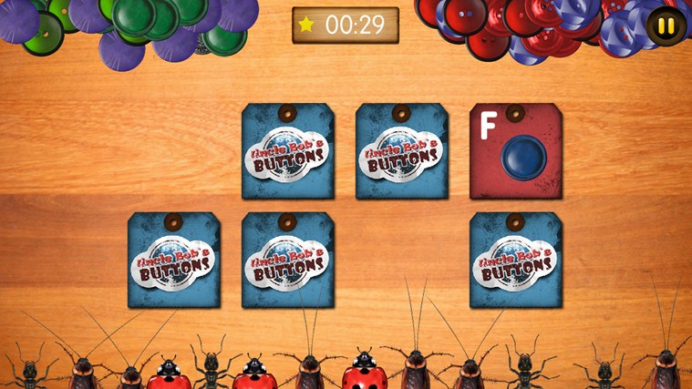 Bugs and Buttons screen shot 3