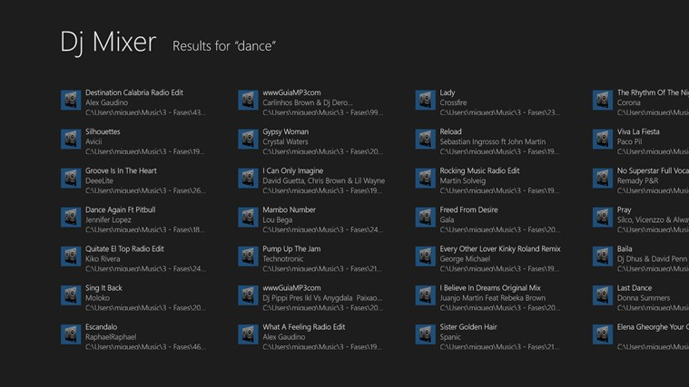 Dj Mixer snímek obrazovky 3