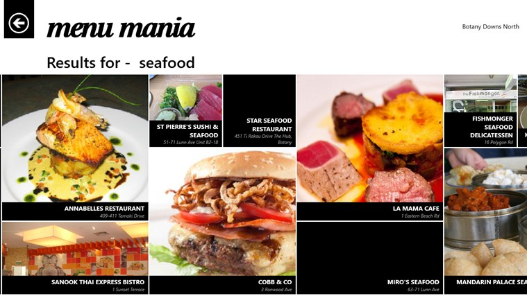 Menu Mania screen shot 5